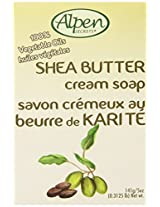 Alpen Secrets Shea Butter Moisturizing Soap, 5-Ounces Boxes (Pack of 24)