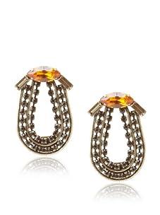 Lionette Designs by Noa Sade Neutral Kennedy Bow Earrings