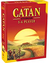 Mayfair Games Catan 5-6 Player Extension 5th Edition, Multi Color