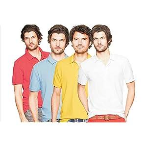 Polo tsxpolo7961 Men's Casual 4-T-Shirts