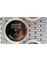 MAXELL CR 2450 CR2450 BUTTON COIN CELL BATTERY