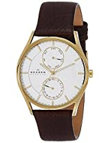 Skagen Analog White Dial Women's Watch - SKW6066I