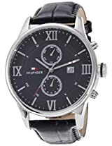 Tommy Hilfiger Analog Black Dial Mens Watch - TH1710290/D