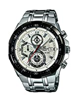 Casio Edifice Stopwatch Chronograph White Dial Men's Watch - EFR-539D-7AVUDF (EX192)