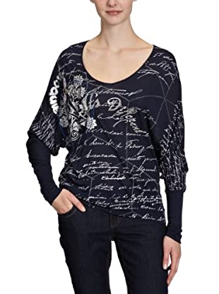 Desigual Camiseta 28T2556 (negro)