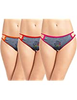 Love Women Panties-Eliza S1- Pack of 3 Pcs.