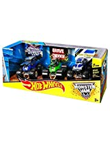 Hot Wheels Monster Jam Grave Digger 3-pack (1:64 Scale)
