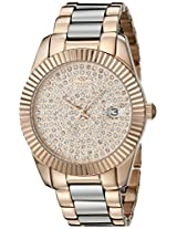 Oniss Paris Women's ON6020N-LRG Galaxy Collection Analog Display Swiss Quartz Rose Gold Watch