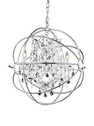 Urban Lights Hemisphere Pendant, Small, Nickel