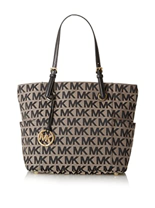 MICHAEL Michael Kors Women's East/West Signature Tote (Black)