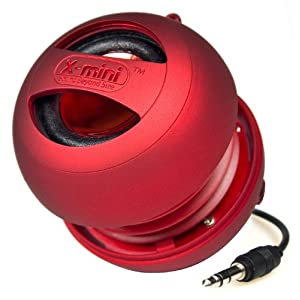 X-mini Mono Series XAM4 Capsule Speaker (Red)