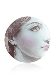 Rosanna Bella Boudoir Victoria Round Tray, Multi