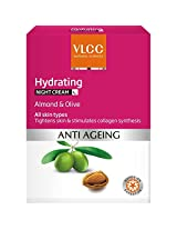 VLCC Hydrating Anti Ageing Night Cream, 50g