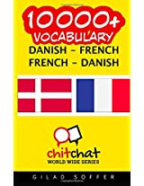 10000+ Danish - French, French - Danish Vocabulary