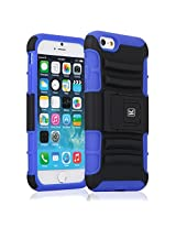 Kayscase ArmorHolster 3 Piece Heavy Duty Kickstand Case with Holster for Apple iPhone 6 4.7 inch - Blue