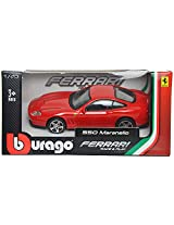 Bburago Ferrari 550 Maranello Scale-1:43 Die Cast Toy Car (Red)