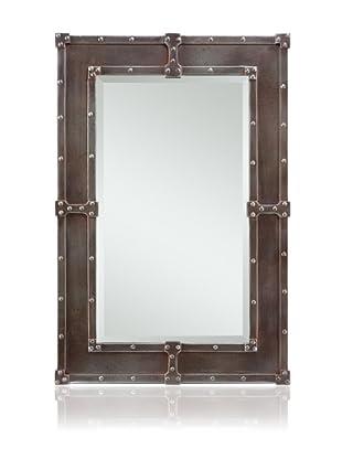 Cooper Classics Lamare Oversized Mirror, Pewter/Copper