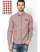 Maroon Casual Shirt