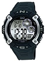 Q&Q Regular Digital White Dial Men's Watch - M065-001