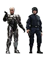 Movie Masterpiece Robocop (Battle Damage Version) And Alex Murphy (Set Of 2) 1/6 Scale Plastic Painted Action Figure (Secondary Shipment)