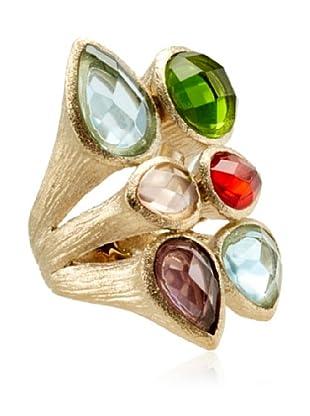 Rivka Friedman Multicolor Crystal Ring
