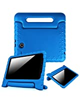 Fintie Samsung Galaxy Tab E 9.6 Kiddie Case - Light Weight Shock Proof Convertible Handle Stand Kids Friendly for Samsung Galaxy Tab E Wi-Fi / Tab E Nook / Tab E Verizon 9.6-Inch Tablet, Blue