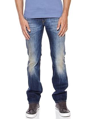Pepe Jeans London Vaquero Derby (Azul Desgastado)