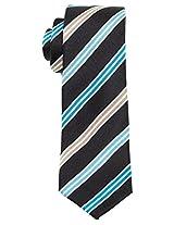 Original Penguin Aqua Jay Stripe Silk Tie