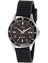 Timex Analog Black Dial Men's Watch - T2P0296S
