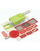 Shopo's Ritu Unbreakable 12-in-1 Fruit & Vegetable Chopper Slicer Grater
