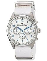 Lucien Piccard Men's LP-10588N-023S Moderna Analog Display Japanese Quartz White Watch