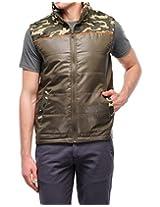 Yepme Men's Green Polyester Jacket-YPMJACKT0126_XL
