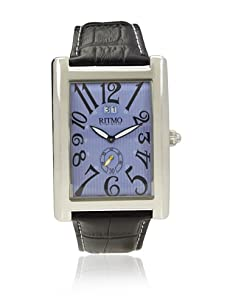 Ritmo Mundo Unisex Gran Data Black/Purple Stainless Steel Watch