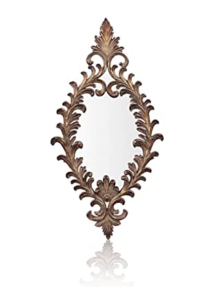 Amadeus Mirror, Antique Copper/Gold