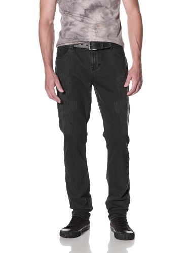 Kill City Men's Skinny Wire Fit Jean (Black)