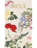 Entertaining with Caspari Bridge Score Pad, Profusion of Flowers