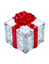 Original 3D Crystal Puzzle - Red Gift Box