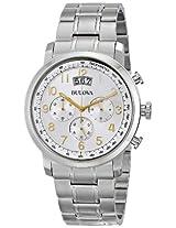 Bulova Dress Analog Silver Dial Men's Watch - 96B201