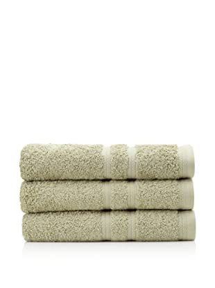 Royal Ascot by Chortex Set of 3 Bath Towels, Sage