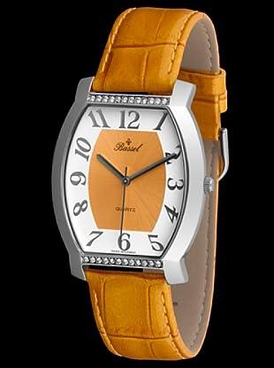 Bassel Reloj 60121AM con Correa de Piel amarillo