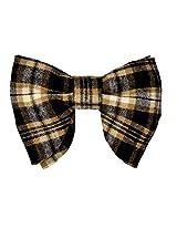 Tiekart Multicolor Checkered Men Bow Tie