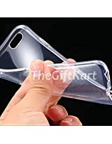 TheGiftKart Ultra Thin Soft Series Flexible Silicone Totu Transparent TPU Clear Case Cover for Micromax Canvas Knight A350