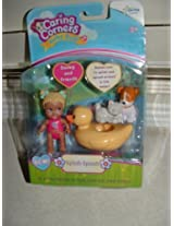 Caring Corners Baby Buds Girl With Rubber Duck And Friends - Splish Splash Figures