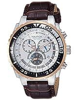 Nautica Chronograph Silver Dial Men's Watch - A14680G