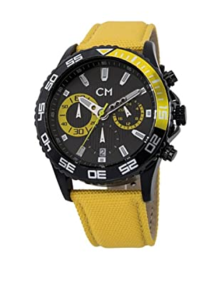 Carlo Monti Herren Chronograph XL Avellino Chronograph Quarz Textil CM509 620