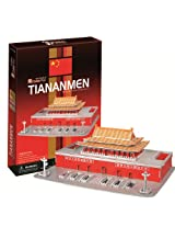 3D three-dimensional puzzle Tiananmen (japan import)