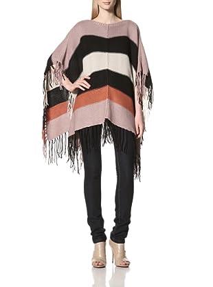 Acrobat Women's Poncho Sweater (Multi)