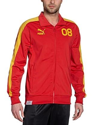 Puma Trainingsjacke Football Archives T7 (team regal red-mineral yellow-es)