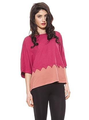 La Casita de Wendy Camiseta Triángulos (rosa/rosa claro)