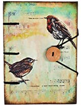 Craft Club Musical Bird with Special Binding Notebook, 7 x 5 inches, 144 Pages